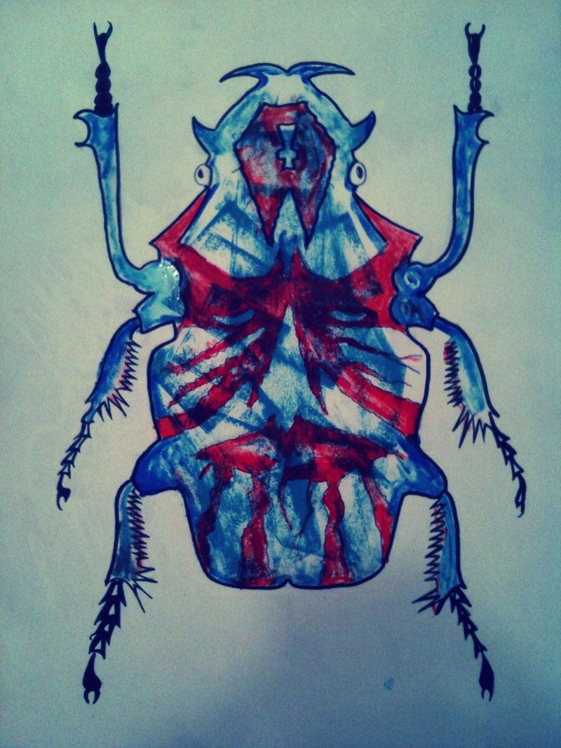 Death Metal Beetle